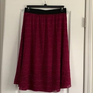 Large LulaRoe Lola skirt